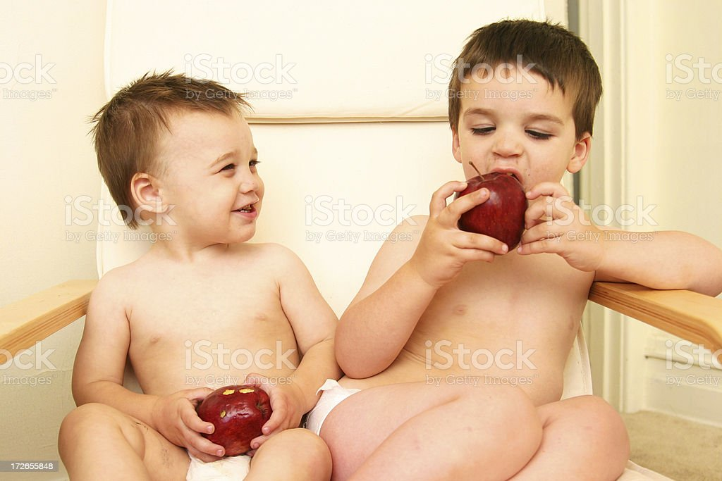 apple a day stock photo