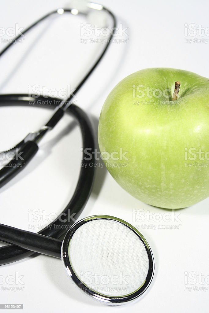 Apple a day royalty-free stock photo