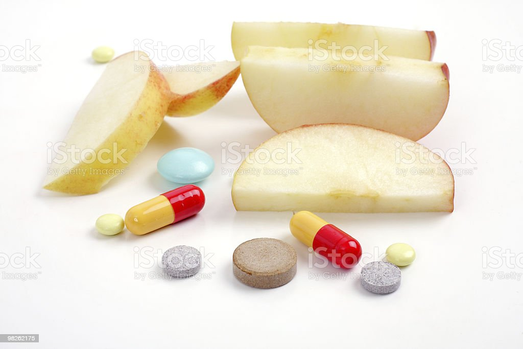 apple e tablet medica foto stock royalty-free