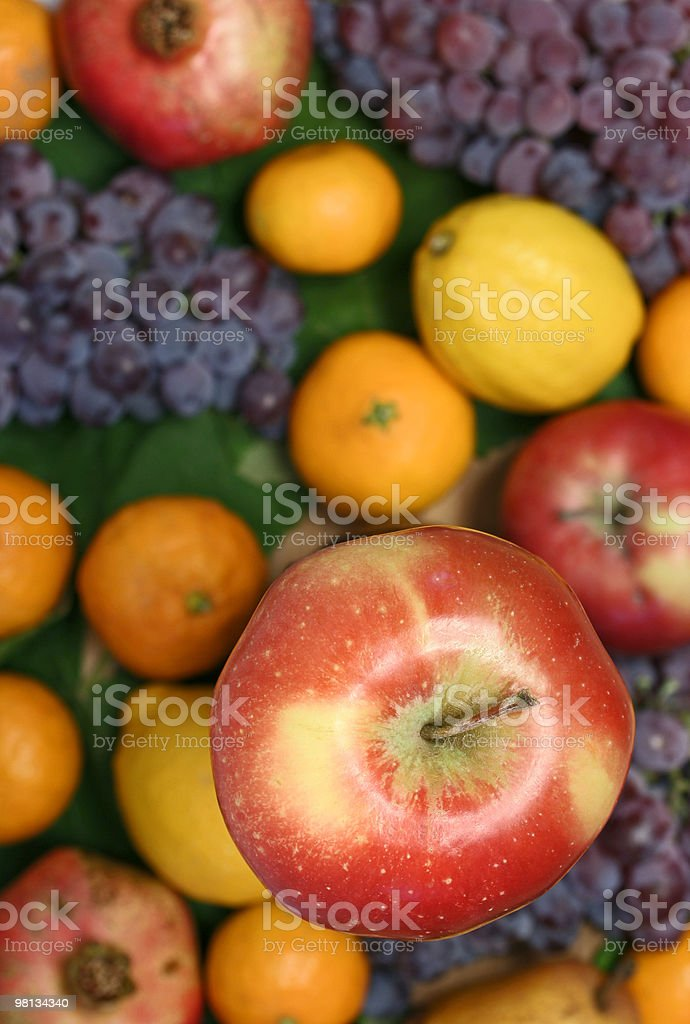 Apple and other fruit royalty-free stock photo