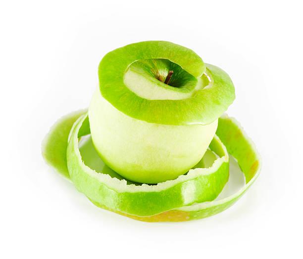apple und Peeling – Foto