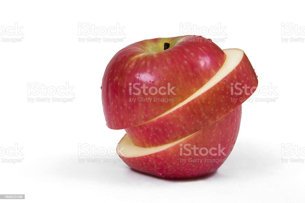 Apple art stock photo