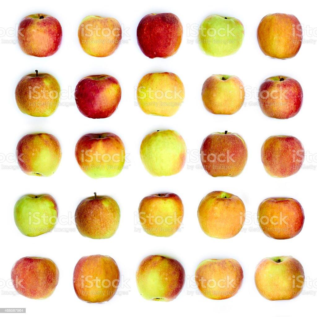 Apple background stock photo
