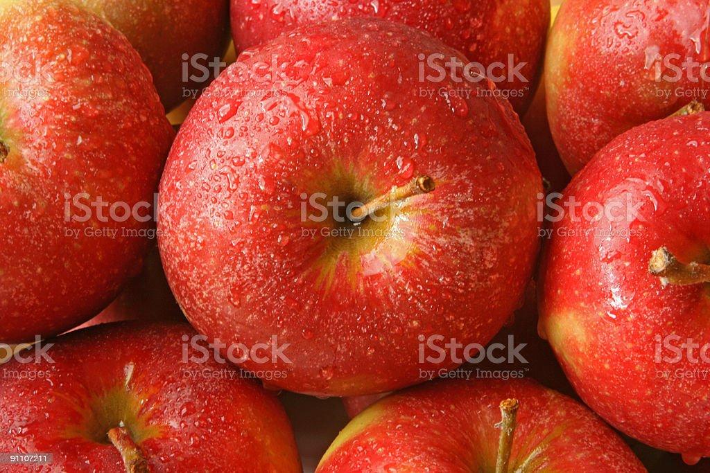 Apple background royalty-free stock photo