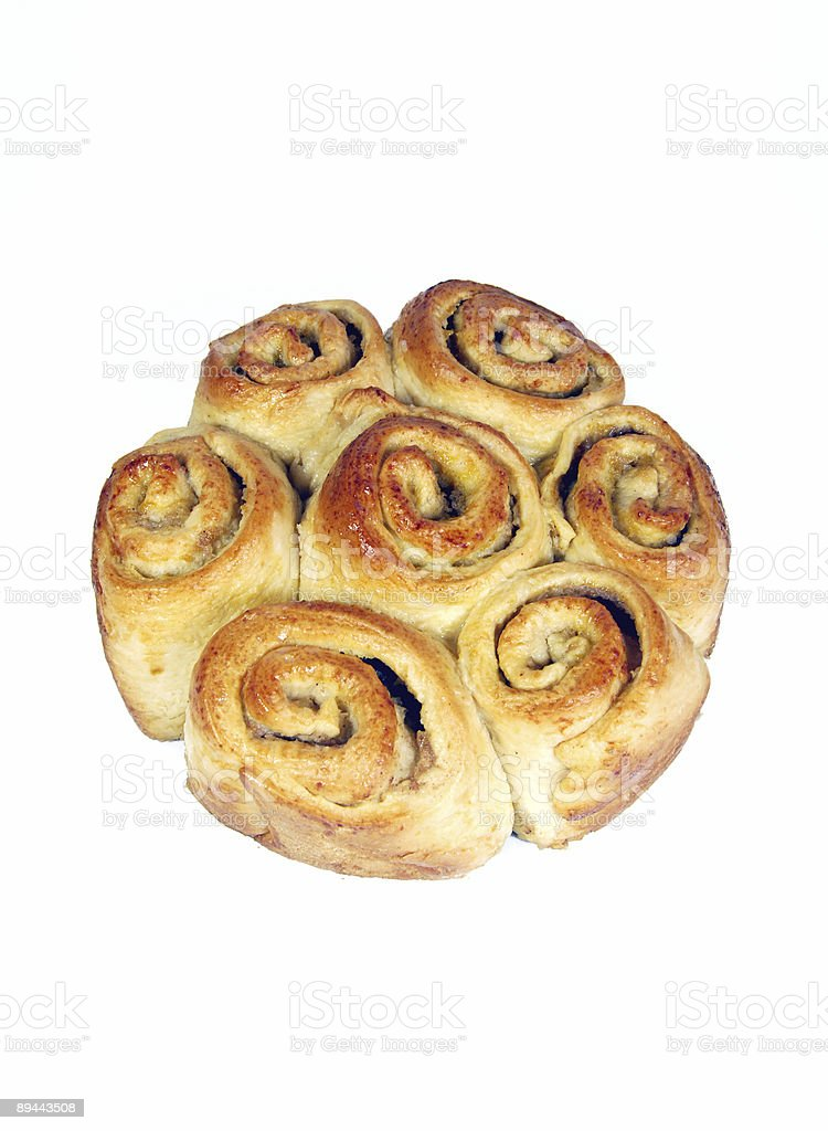 Apple Bread - Clipping Path royalty-free stock photo