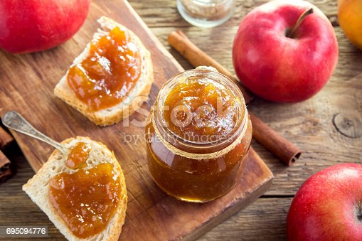istock Apple Butter (Jam) 695094776