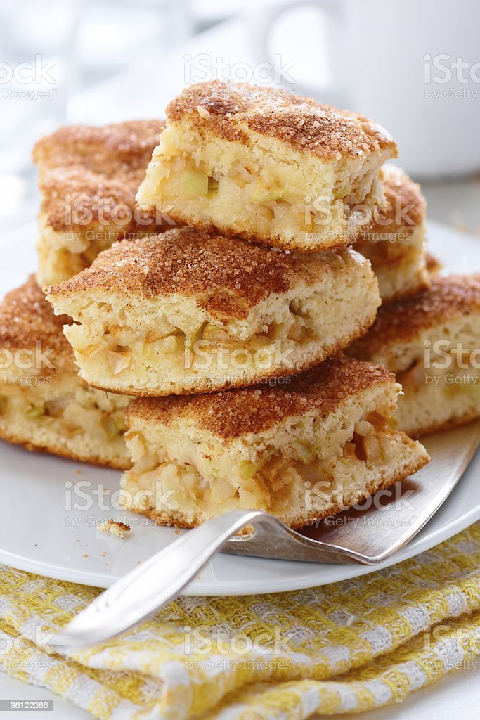 Apple cakes royalty-free stock photo