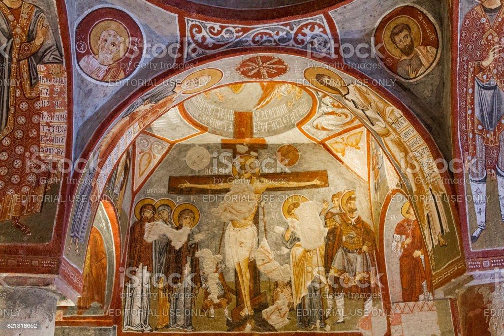 Apple Church, Cappadocia, Turkey. stock photo
