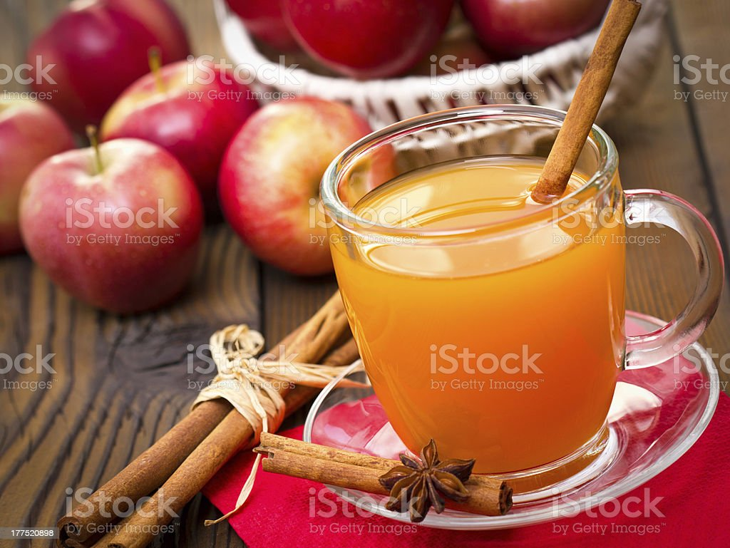 Apple cider stock photo