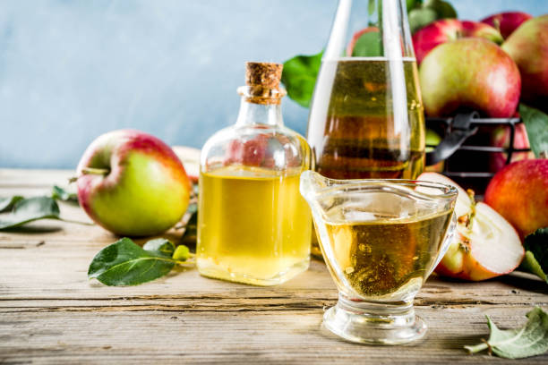 apple cider vinegar - enzym zdjęcia i obrazy z banku zdjęć
