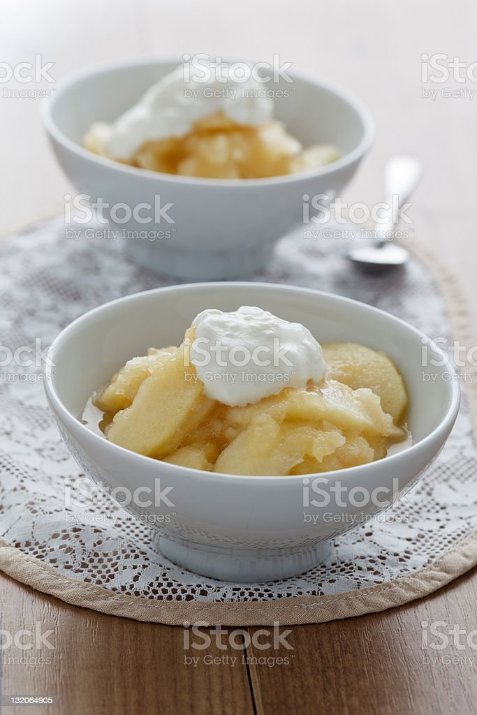 Apple Compote royalty-free stock photo