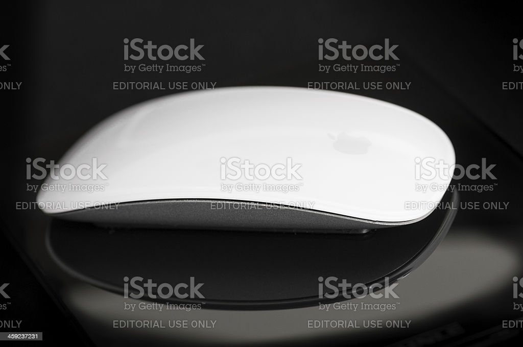 Apple Computer Magic Mouse royalty-free stock photo