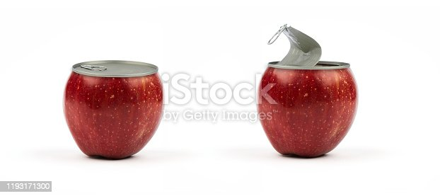 Apple conserve canned on off fruits and vegetables