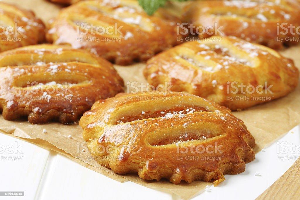 apple cookies royalty-free stock photo