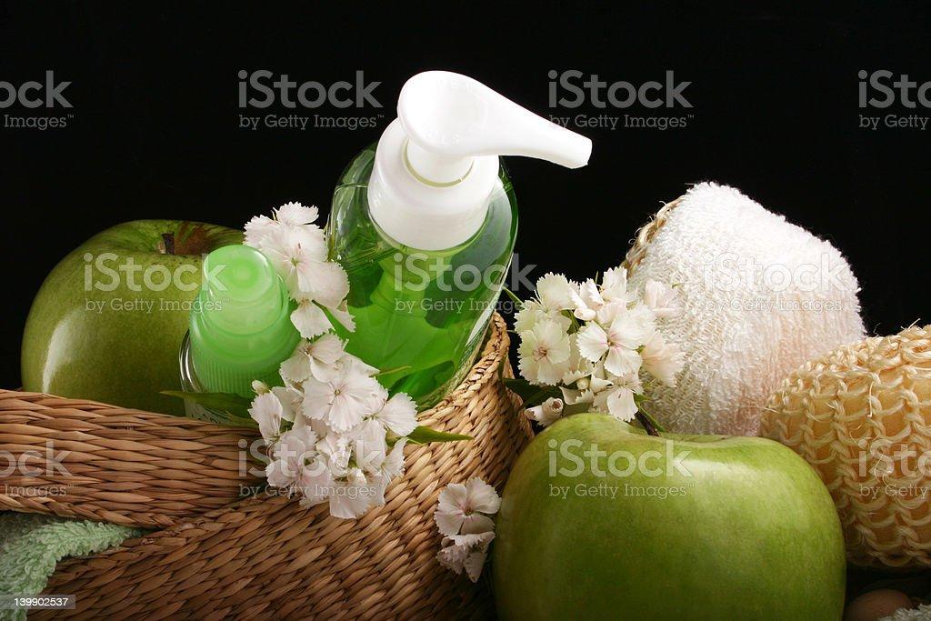 apple - cosmetics royalty-free stock photo