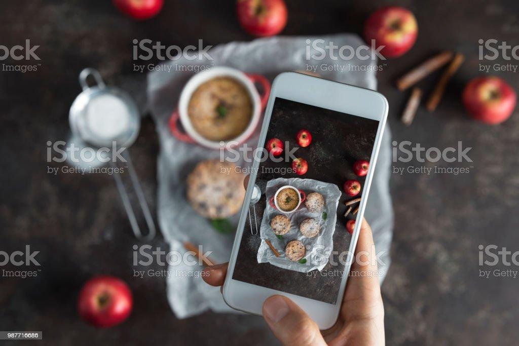 Apple Crumble stock photo
