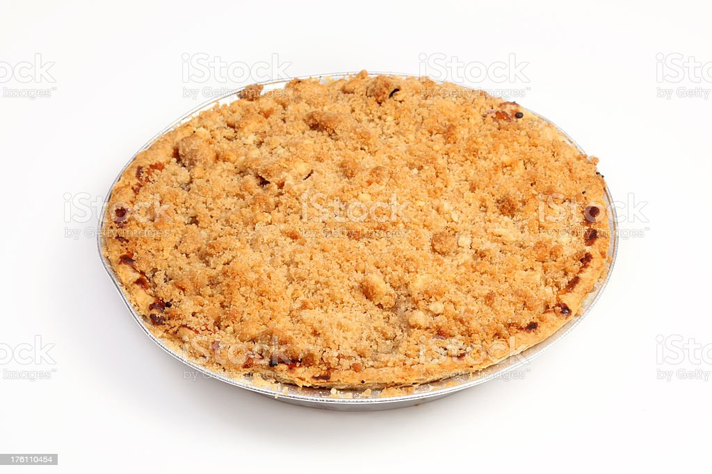 Apple Cumb pie royalty-free stock photo