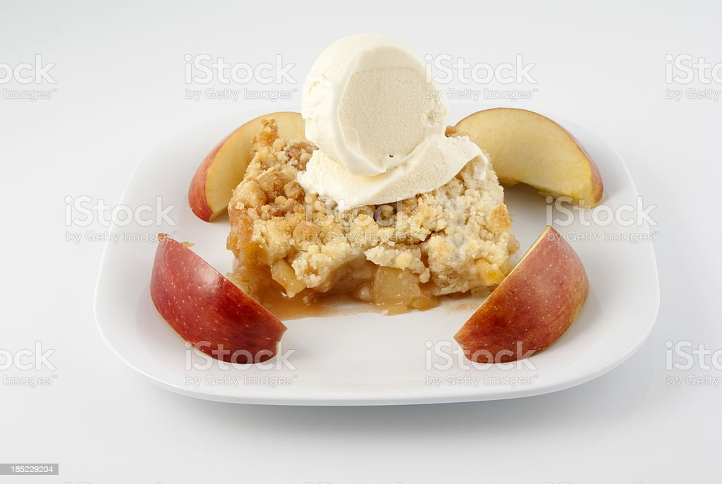 Apple Dessert stock photo