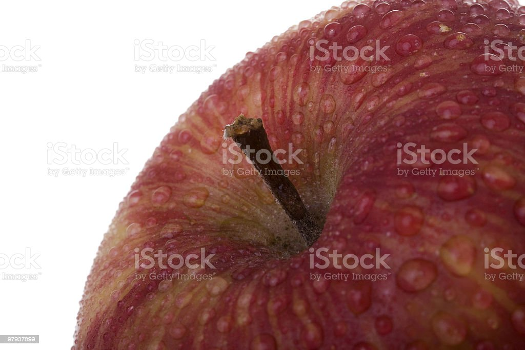 apple detail royalty-free stock photo