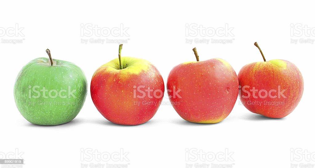 apple diversity royalty-free stock photo