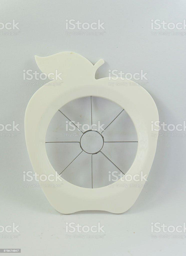 apple divider stock photo