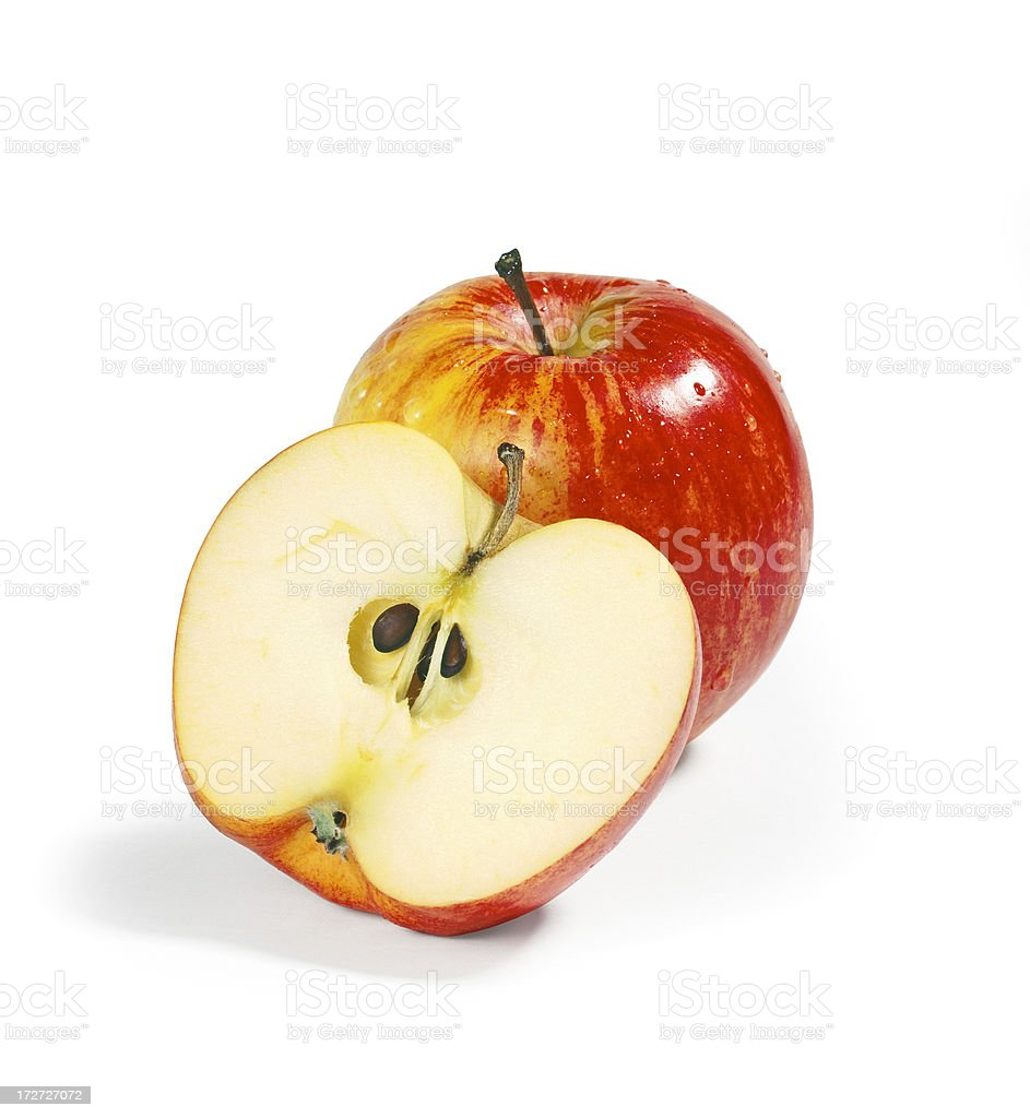 Apple duo royalty-free stock photo