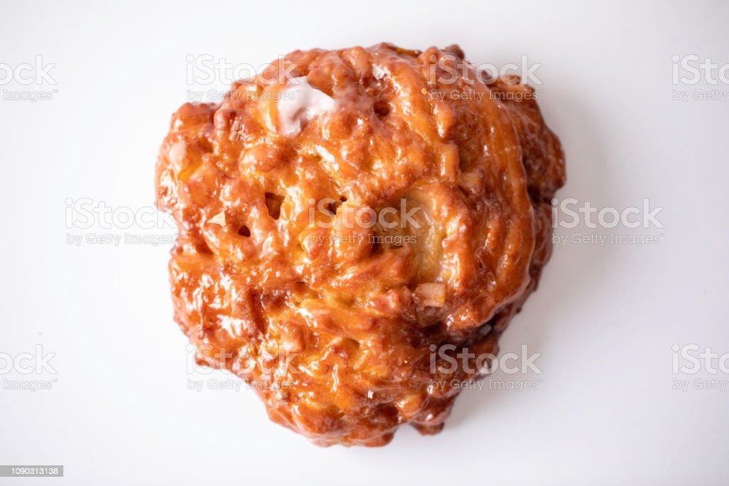 Apple Fritter Donut stock photo