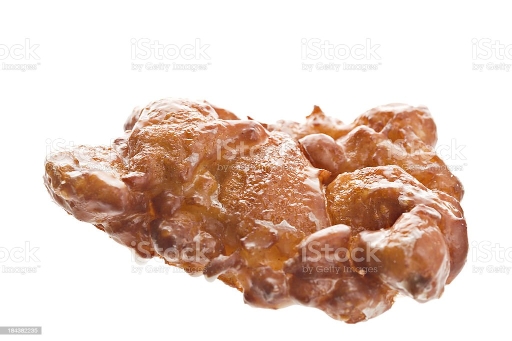Apple Fritter Doughnut stock photo