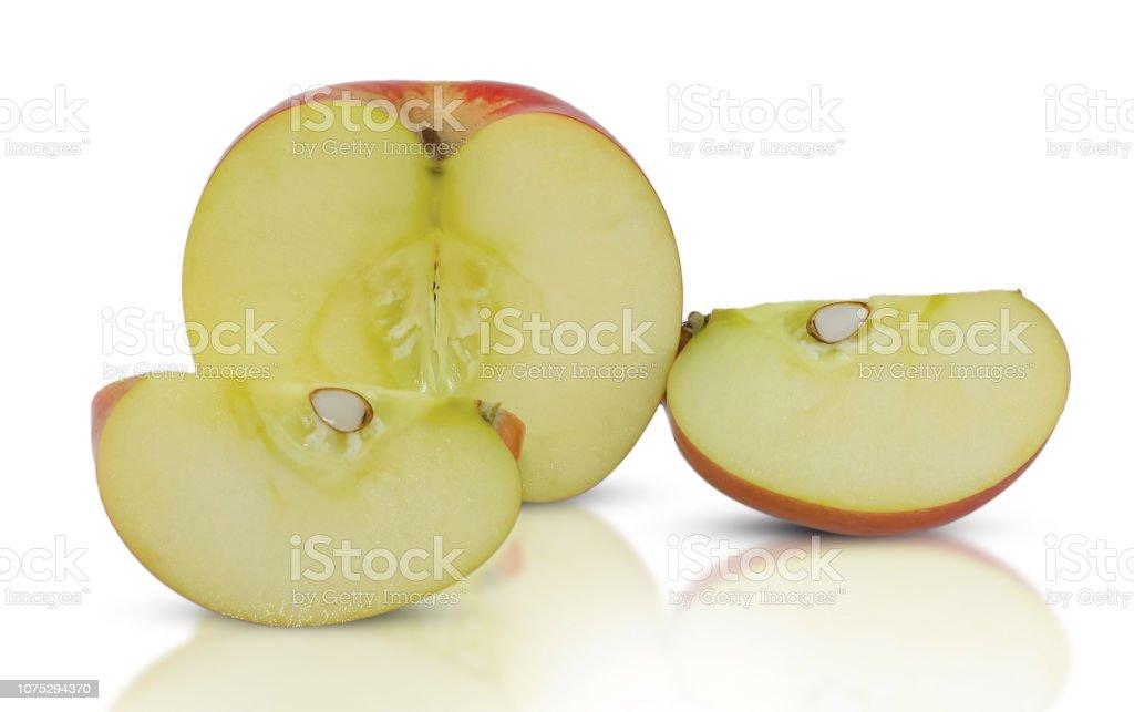 apple fruit isolated on white stock photo