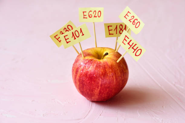 Apple Fruit with natural E additives