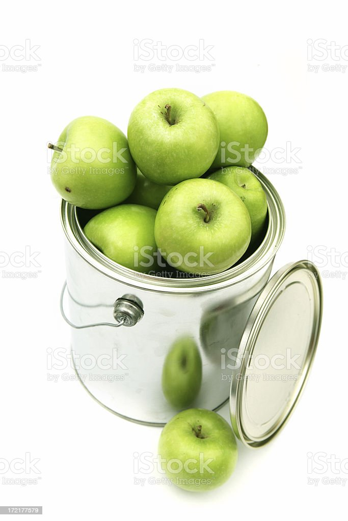Apple Green royalty-free stock photo