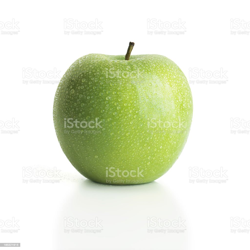 apple green stock photo