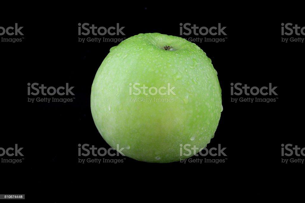 apfel grün stock photo