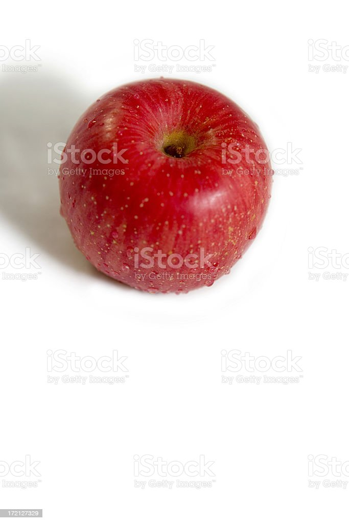 Apple healthy eating royalty-free stock photo
