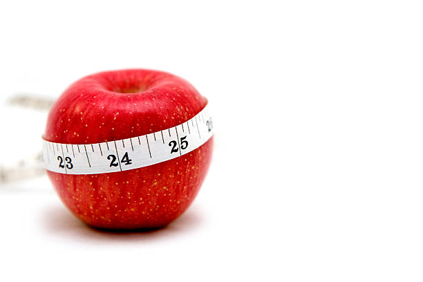 apple healthy eating stock photo