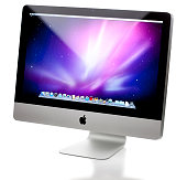 istock Apple iMac 21.5 Inch Computer with clipping paths 157724754