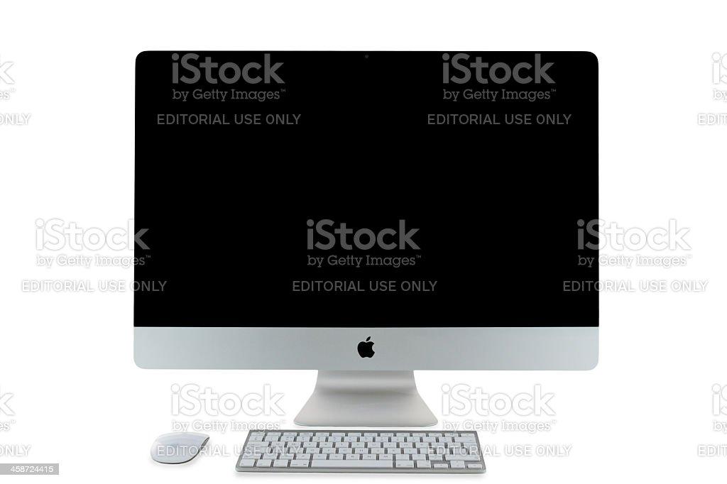 Apple iMac 27 inch royalty-free stock photo