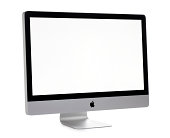 Apple iMac Computer on White