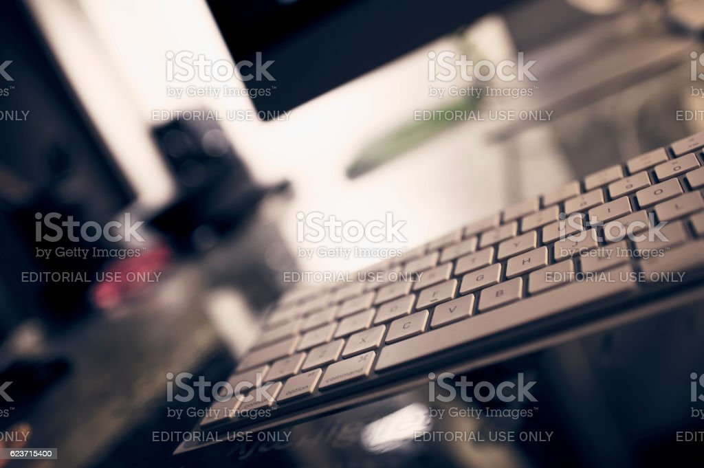 Apple Imac Computer. stock photo