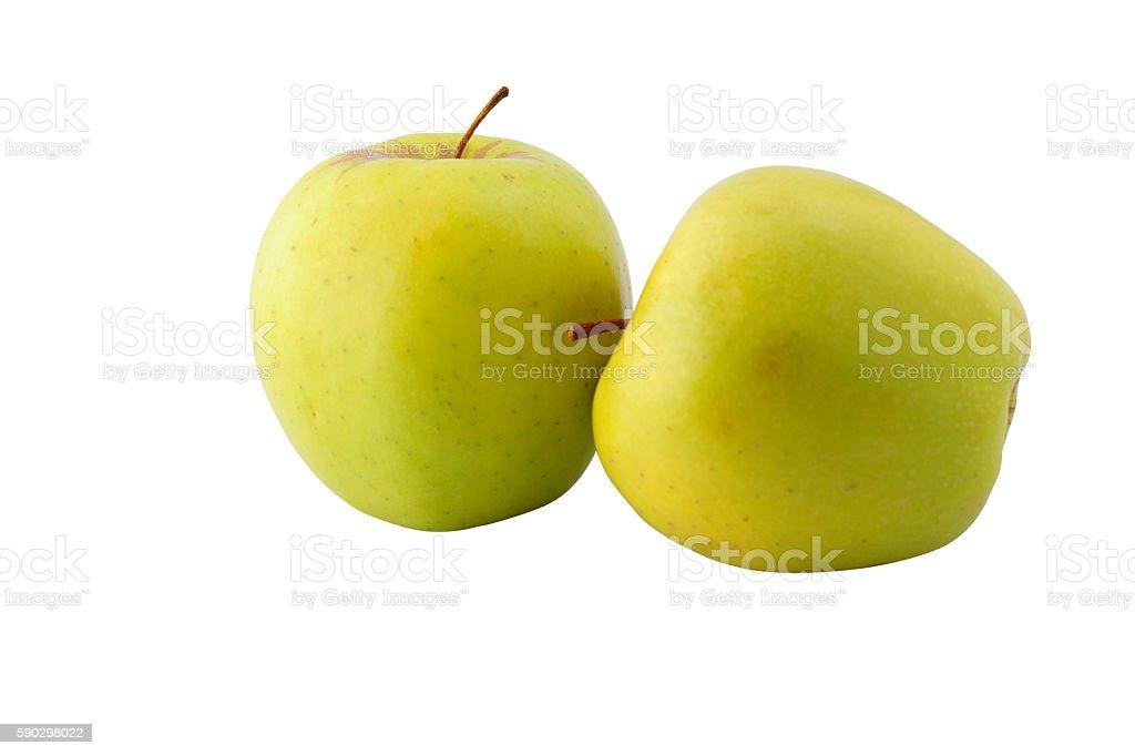 Apple in a pure white background Стоковые фото Стоковая фотография