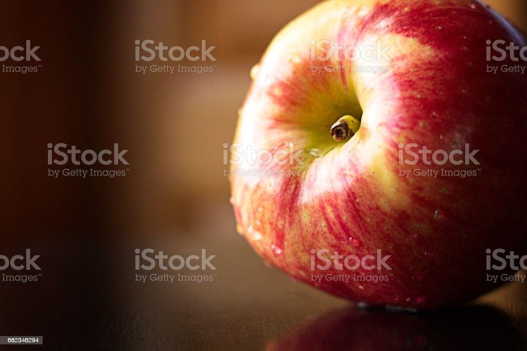 Apple in Profile royalty free stockfoto