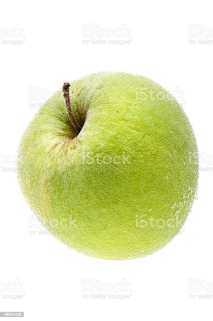 Apple in acqua foto stock royalty-free