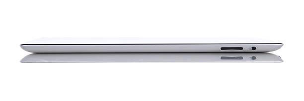 apple ipad 2 gb wi-fi, 3 g, widok z boku - ipad zdjęcia i obrazy z banku zdjęć