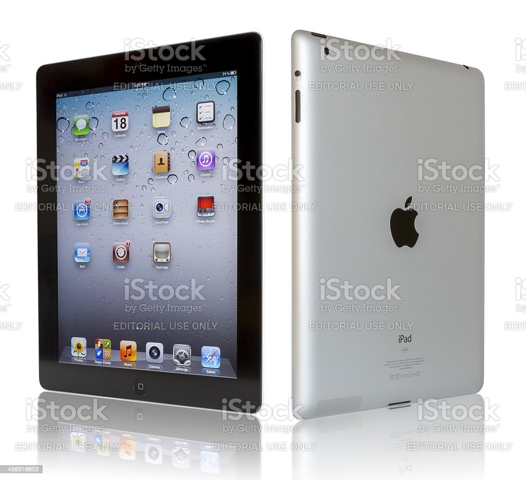 Apple iPad 3 royalty-free stock photo
