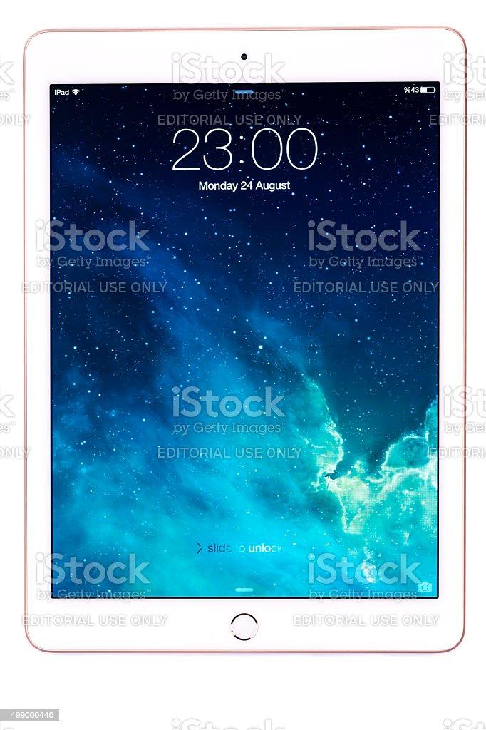 Apple iPad Air 2 stock photo