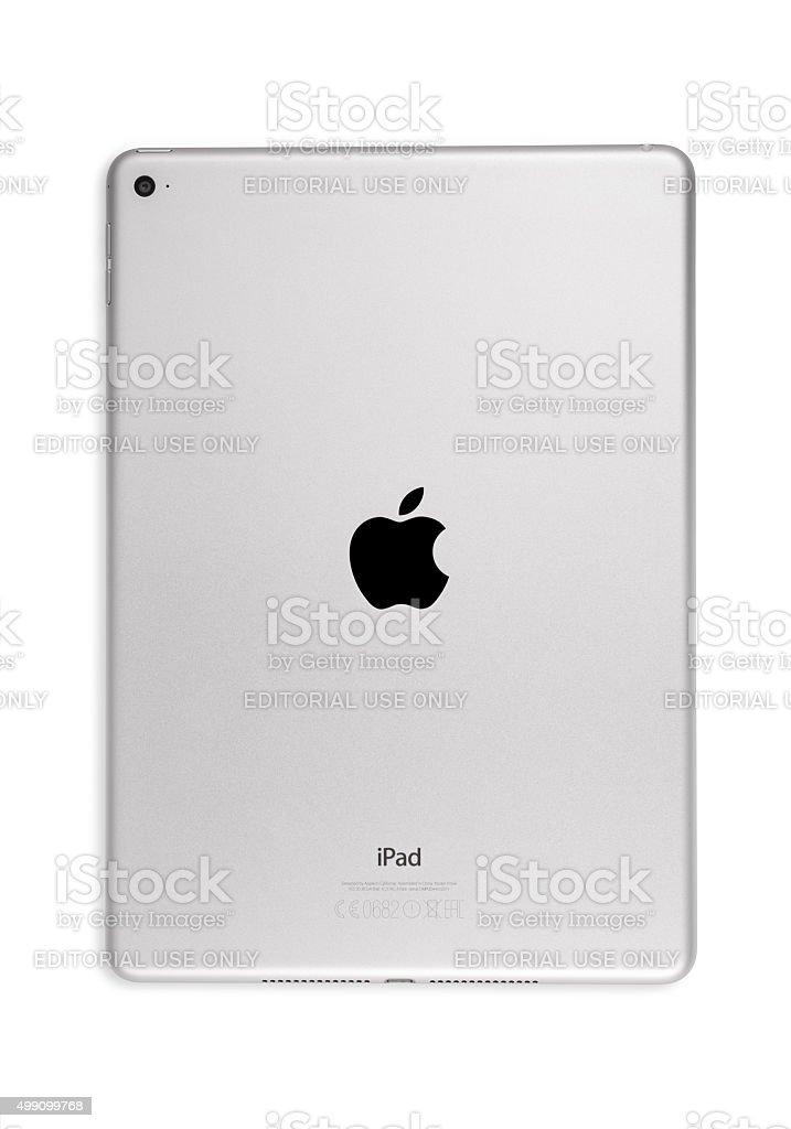 Apple iPad Air 2 Silver stock photo