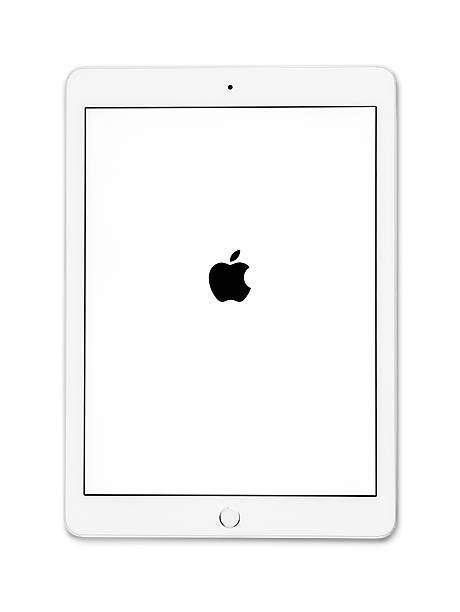 apple ipad air 2 silver - tablet stock photos and pictures
