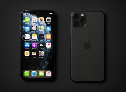 Apple iPhone 11 Pro on dark background