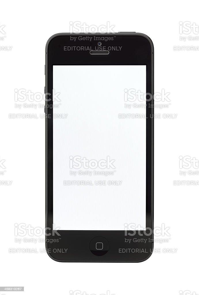 Apple iPhone 5 mit leeren Bildschirm – Foto