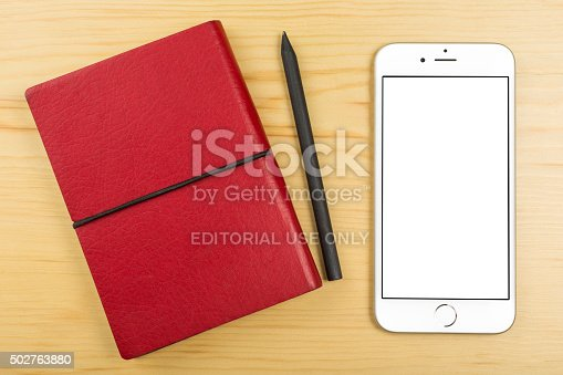 istock Apple iPhone 6 on the Table 502763880